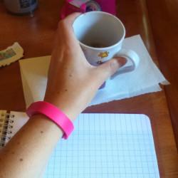Les bracelets connectés …