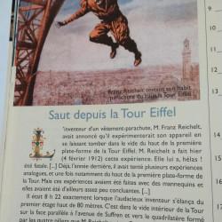 Gustave Eiffel : Saut depuis la Tour Eiffel