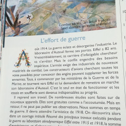 Gustave Eiffel : l'effort de guerre