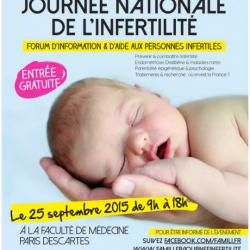 25 septembre :  journée nationale de l'infertilité