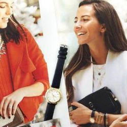 shopping de noël entre filles : évenement