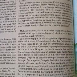 Gustave Eiffel : Eiffel invente un avion ..