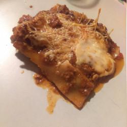 mes lasagnes du lundi soir