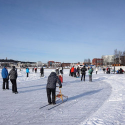 direction Jyväskylä en Finlande